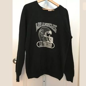 Vtg Los Angeles Raiders NFL Crewneck Sweatshirt